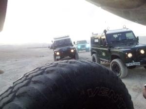 Jahafel 4x4 in der Wüste bei Jericho
